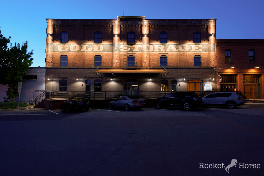 Cold Storage, Front, Blue Hour