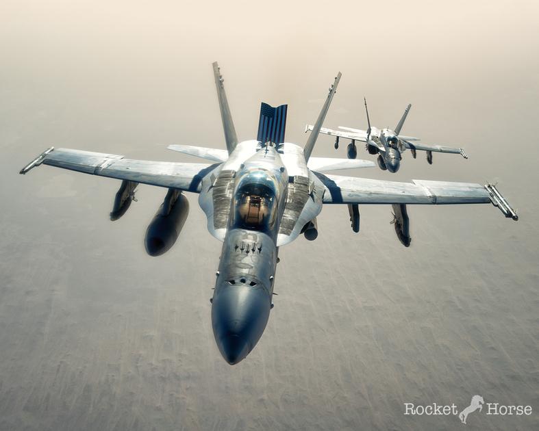 US Navy F-18 Hornet